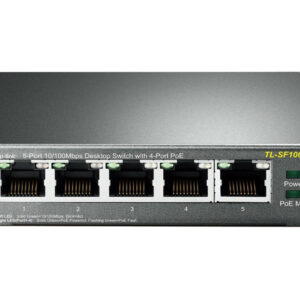 سوئیچ-5-پورت-4-پورت-POE-تی-پی-لینک-TP-LINK-TL-SF1005P